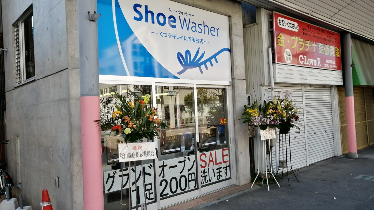 shoe washer